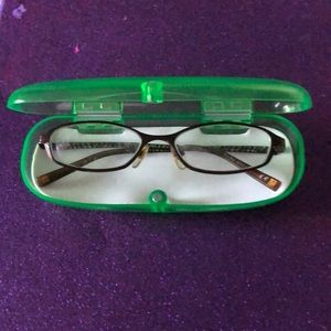 BOGO Anne Klein glasses and case